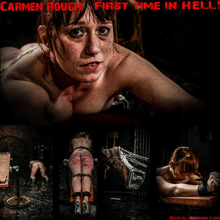 Carmen Rough's First Time in HELL! (Release date: Jun 1, 2020)