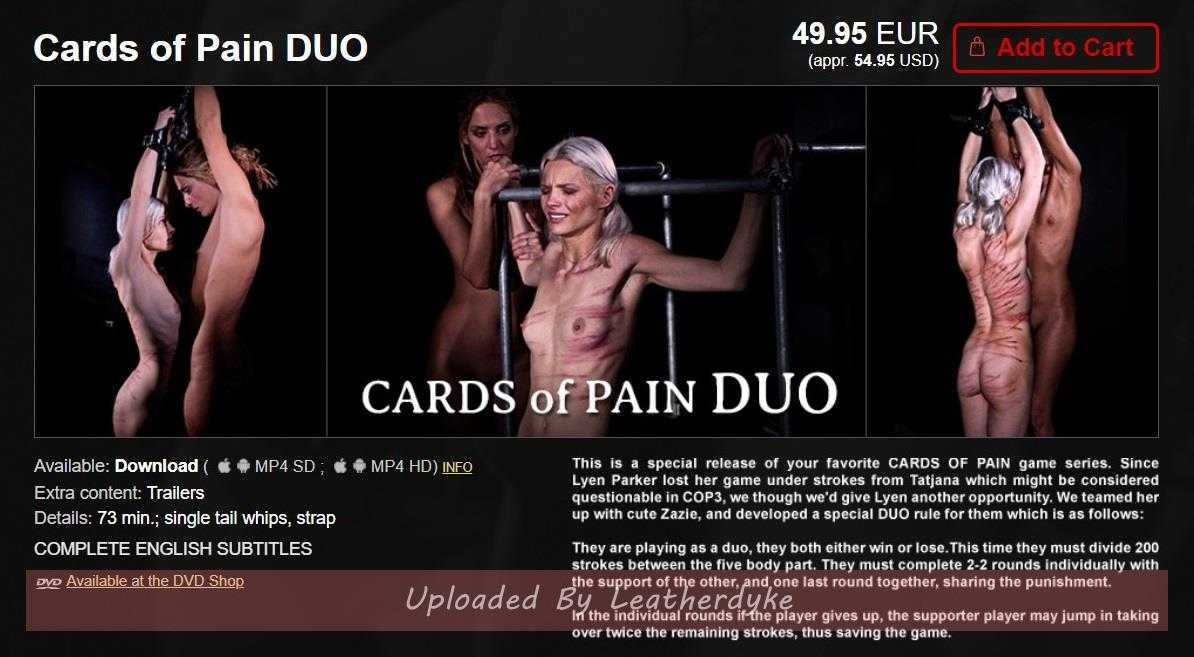 Cards of Pain Duo