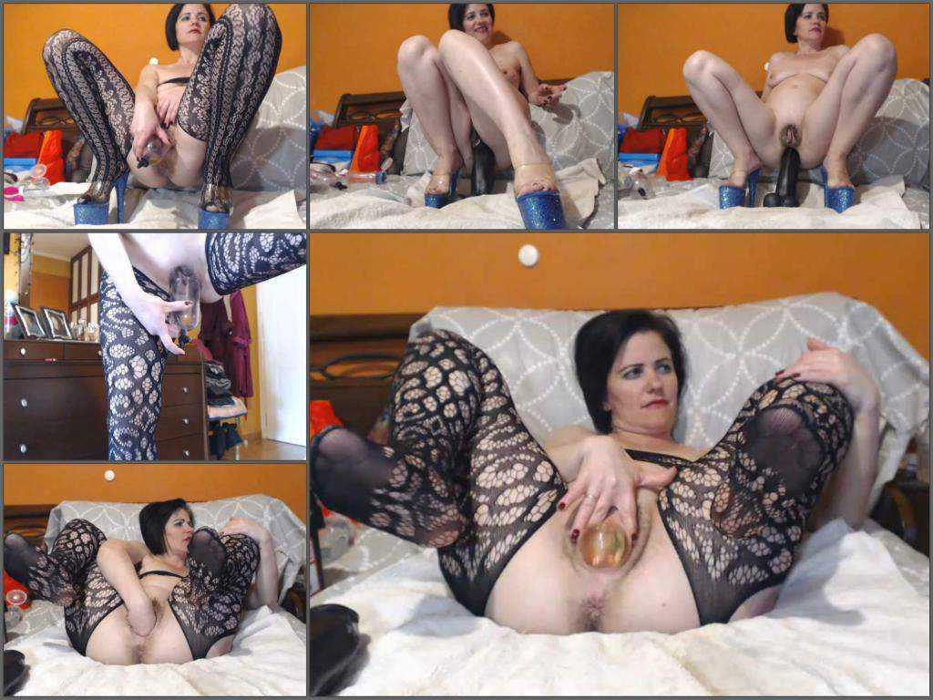 Ball penetration – Kinky hairy pussy pornstar kinkyvivian big ball fully in pussy