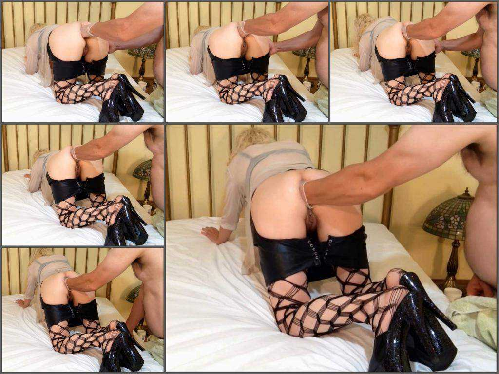 Mature anal – Alluringanal being fisted as a blonde for the first time homemade