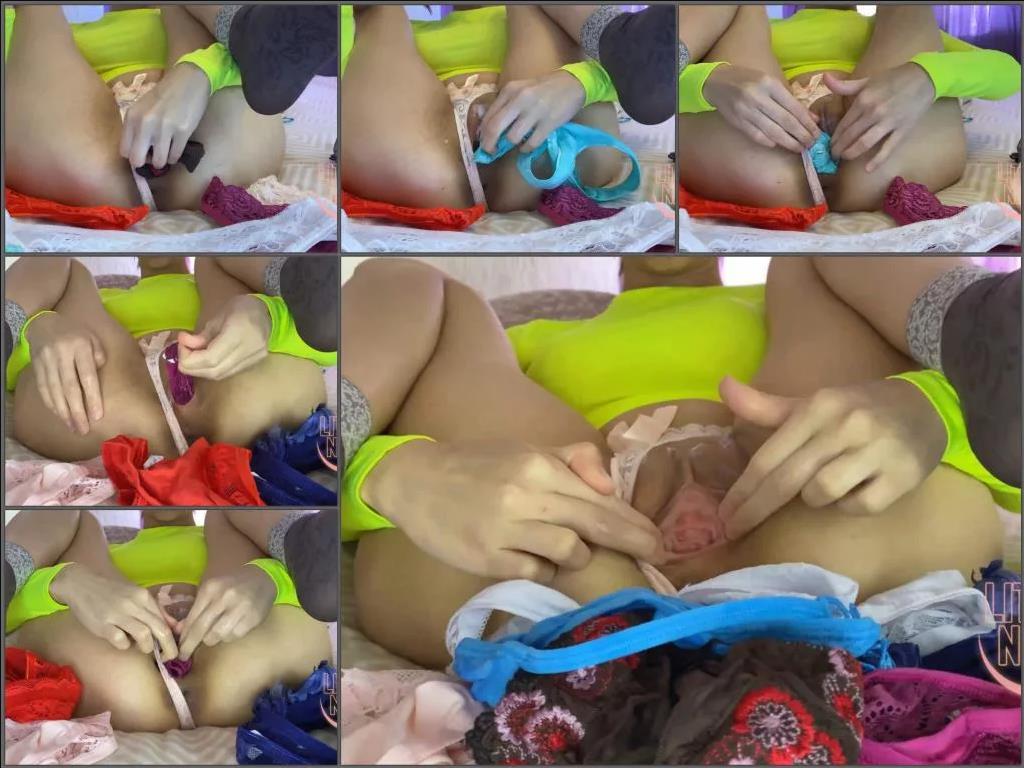 Panties Stuffing,Panties Stuffing porn,Panties Stuffing teen,vaginal stretching,pussy gape,teen pussy gape,russian teen,Little_Nika18 porn,full hd teens porn