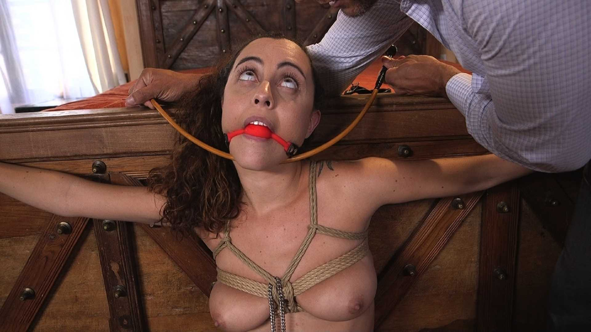 Shy College Slut, Roxanne Rae, Gets Ass Fucked in Tight Rope Bondage | Full HD 1080p | August 1, 2017