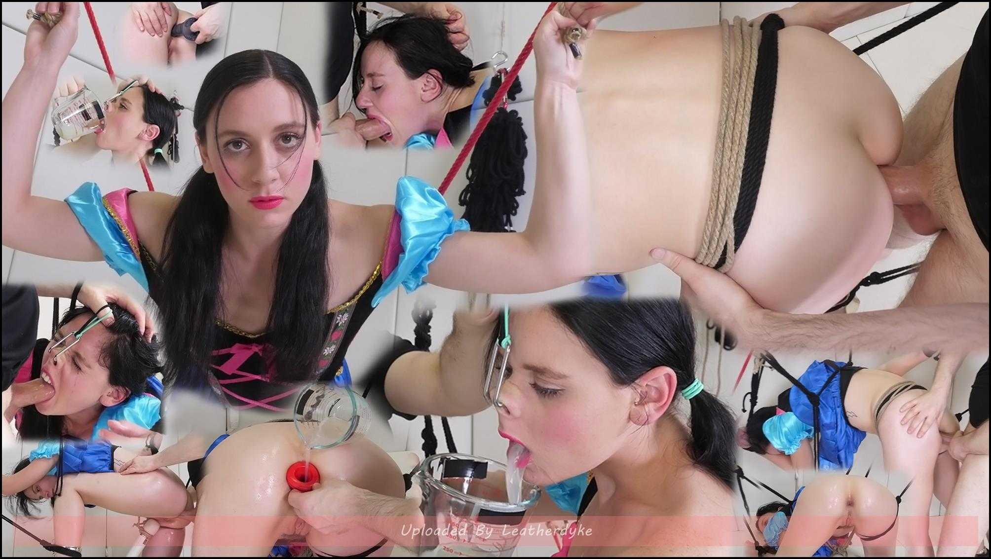 Lesbian Anal Sperm Puppet with Audrey Holiday | Full HD 1080p | Oct 17, 2018
