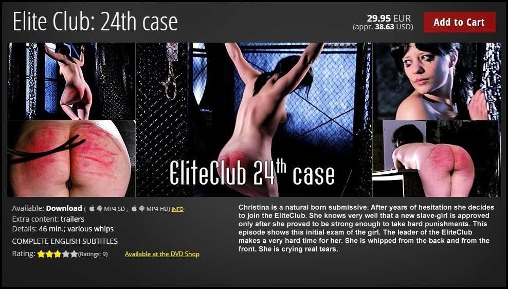 Elite Club: 24th case