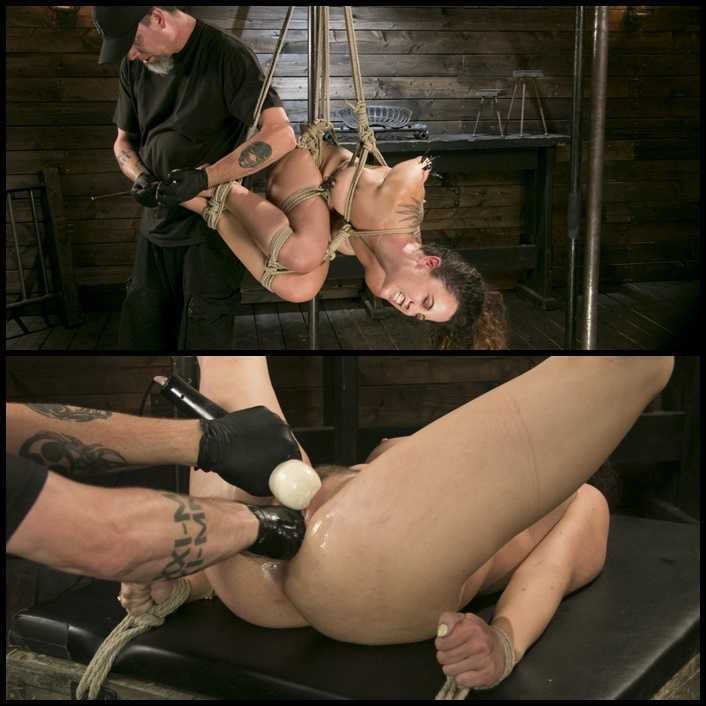 Masochistic Pain Slut is Sadistically Dominated in Extreme Bondage | HD 720P | August 31, 2017