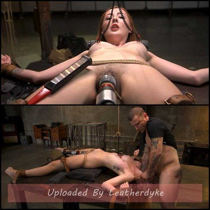 Redheaded Girl Next Store Megan Winters Fucked in Brutal Rope Bondage! | HD 720p | Oct 24, 2018