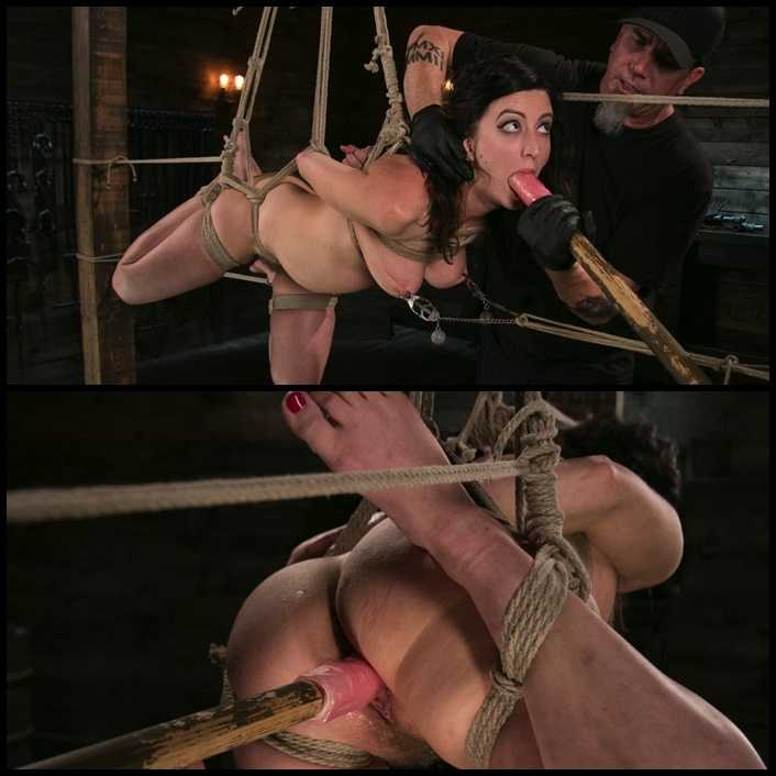 Bound Slave Cherry Torn Tormented in Rope Bondage and Multiple Orgasms | HD 720P | December 7, 2017