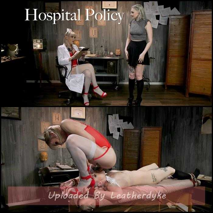 Hospital Policy: Nurse Lena Gives Arielle a Naughty Check Up | HD 720p | Mar 11, 2019