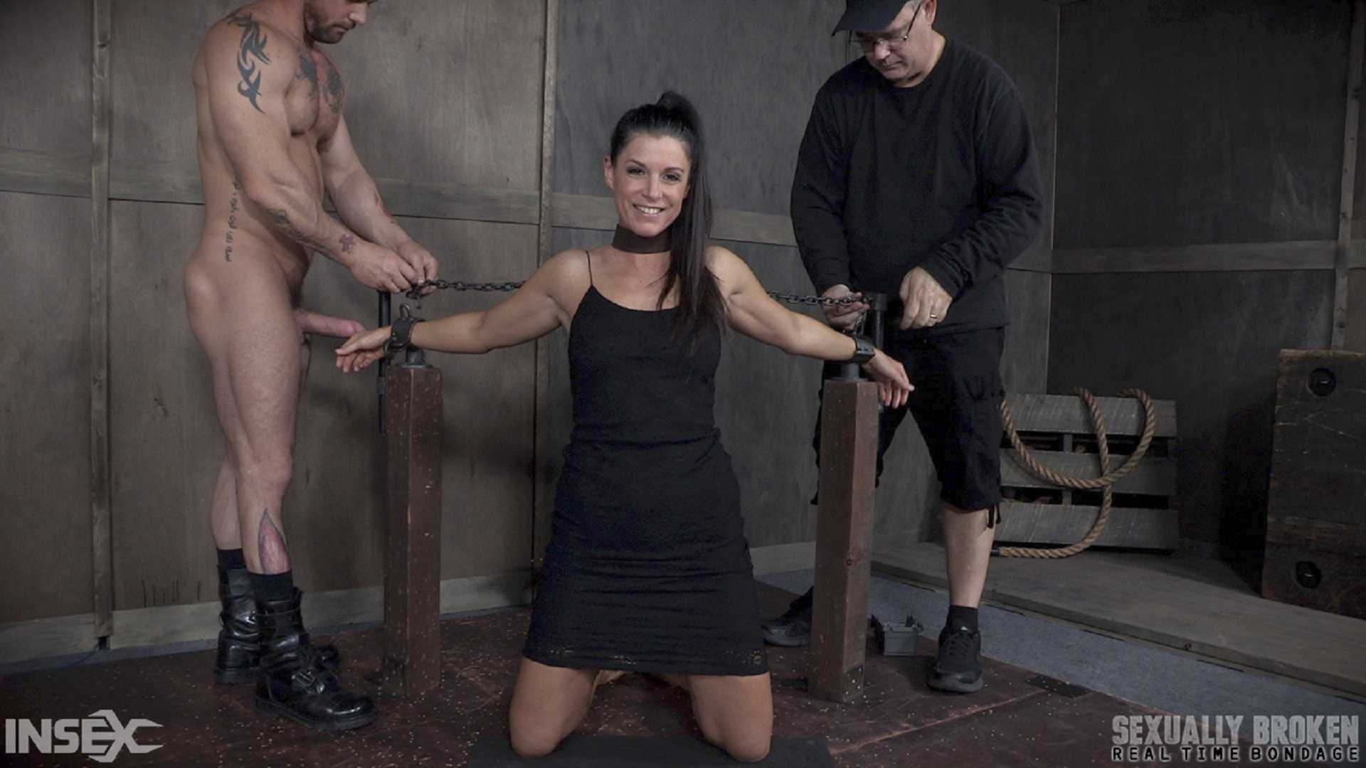 India Summer's Recorded Live feed from May: Brutal bondage, fucking and deepthroating | HD 720p | June 5, 2017