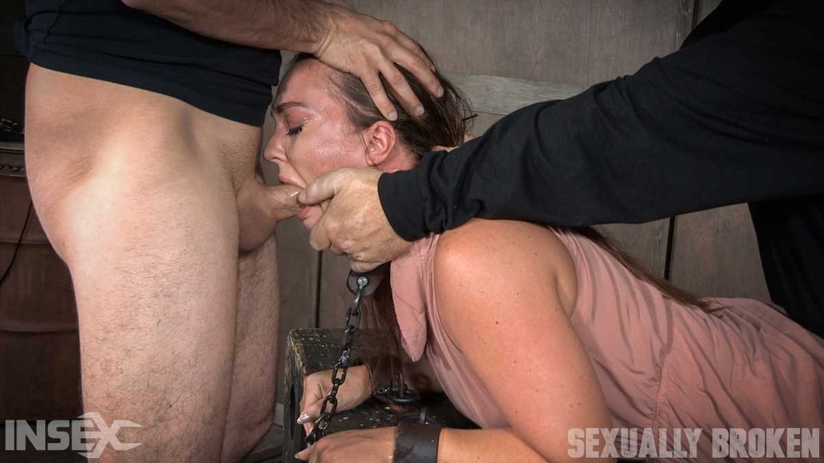 Maddy O'Reilly is sexually brutalized by cock and bondage. Deepthroated and fucked while helpless | HD 720p | Jul 10, 2017