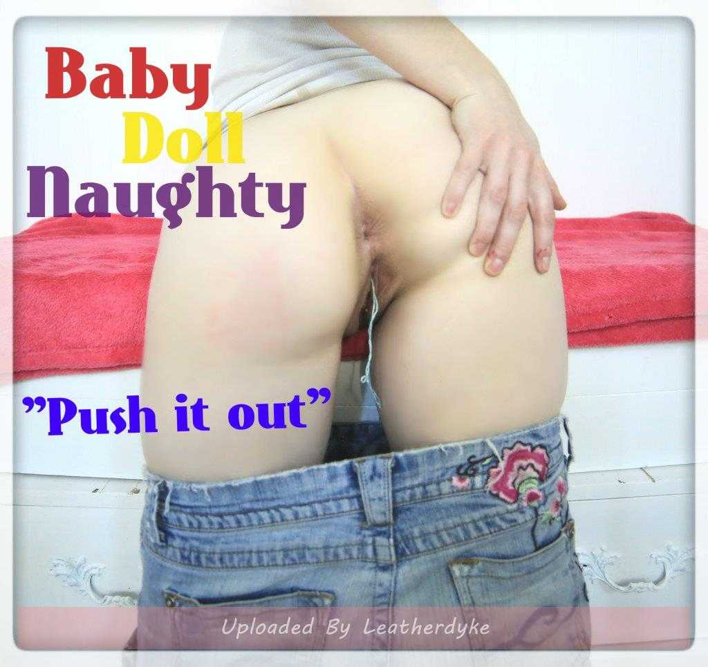 Push it out with BabyDollNaughty