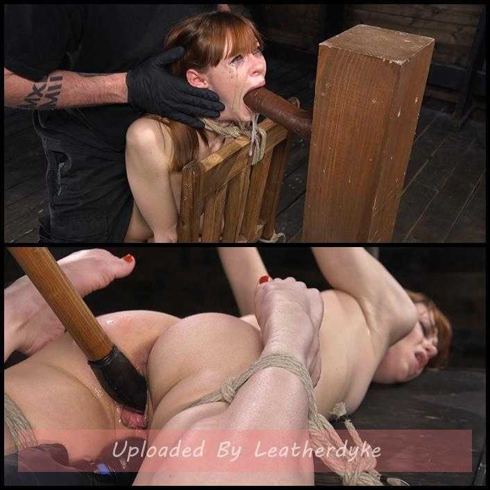 Red Headed Rope Slut Gets Brutalized and Made to Cum | HD 720p | April 12, 2018