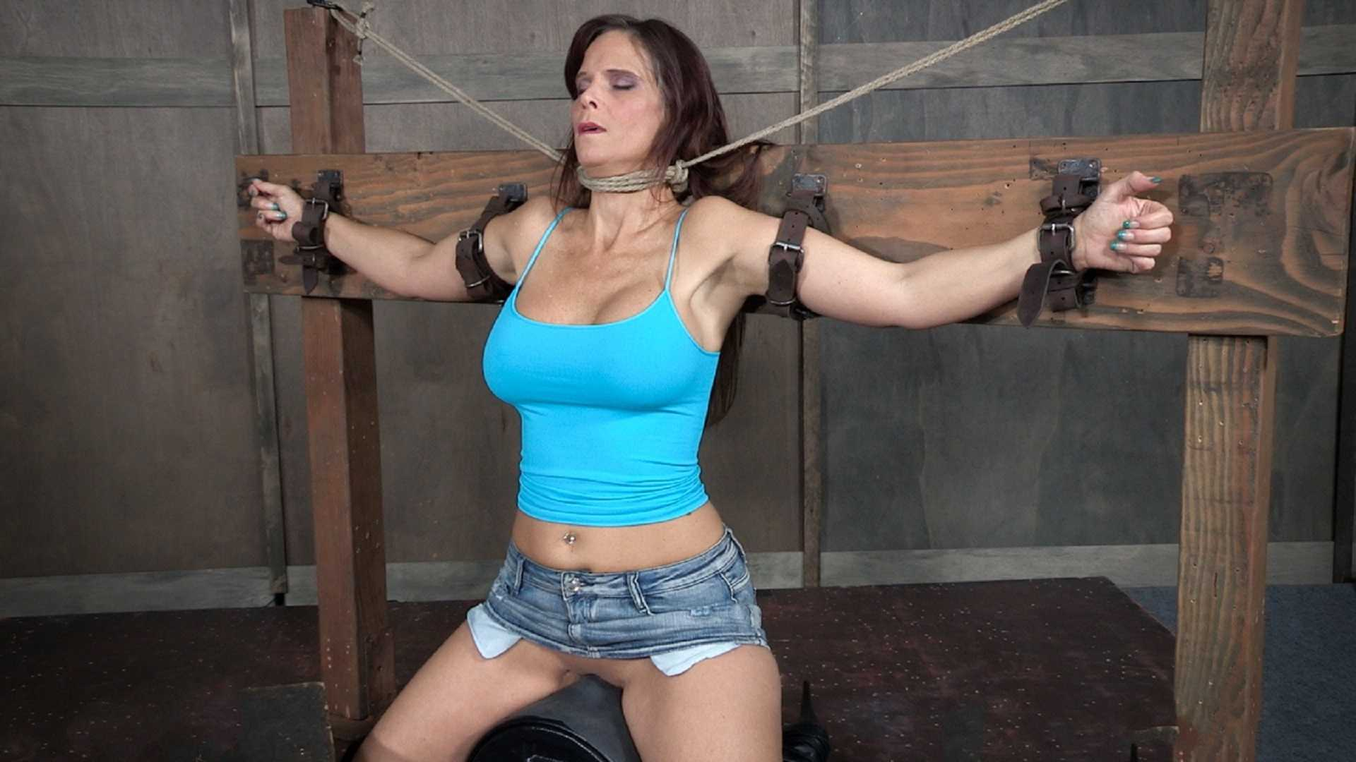 Sybian bondage video f.cking