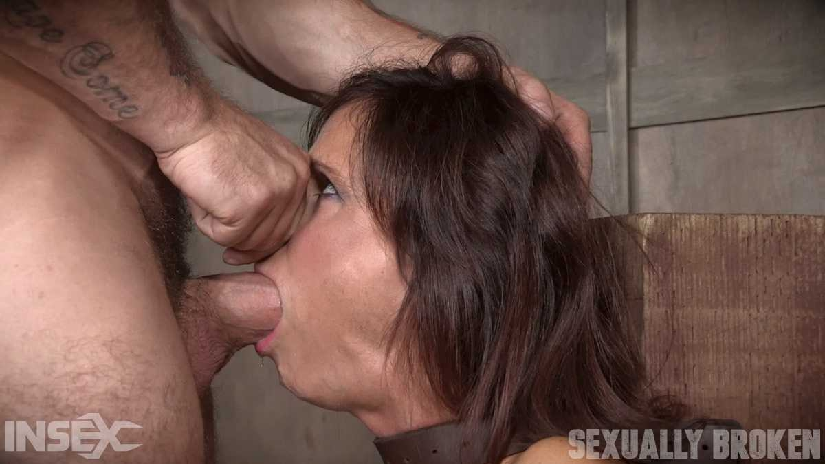 Sexy MILF Syren De Mer gets what she wants; brutal face fucking, two cock beatdown | HD 720P | November 13, 2017