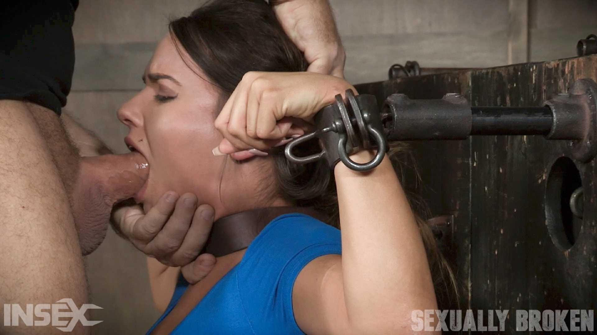 Sexy Girl Next Door has her first Bondage and rough sex experience, gets destroyed by cock | HD 720P | August 29, 2017