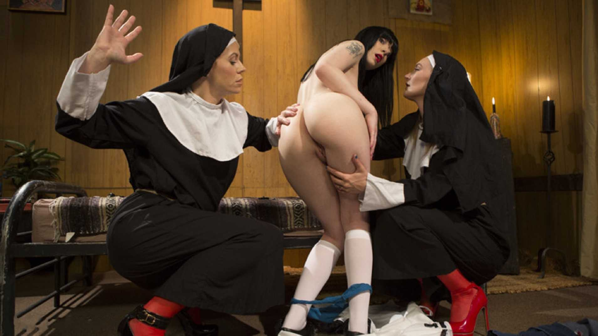 Anal Initiation: Aspiring Nun Gets Beaten & Fucked | HD 720p | May 11, 2017