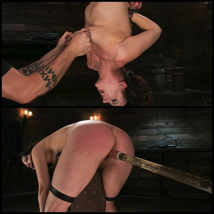 Female Slave Cherry Torn Tormented in Metal Bondage and Coerced Orgasm | HD 720P | November 16, 2017