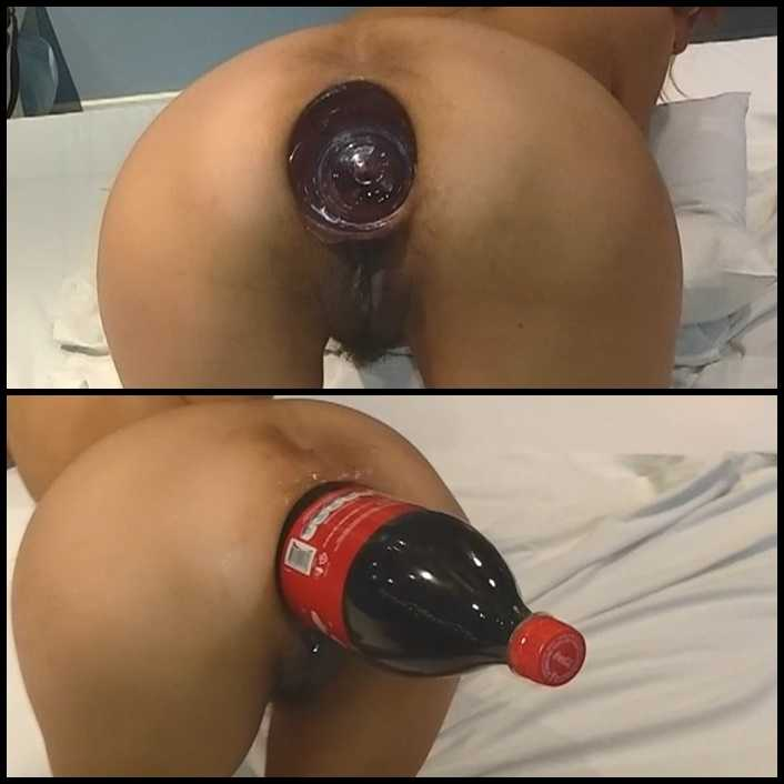 Marias anal cola bottle fuck | HD 720P | November 19, 2017