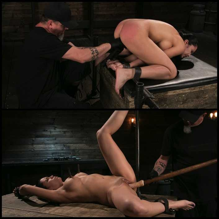 Newbie Pain Slut Cassandra Cain Coerced with Orgasms and Metal Bondage | HD 720P | November 30, 2017