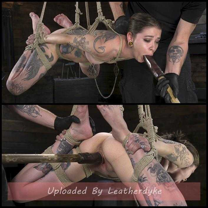 Alt Dream Girl Krysta Kaos Abused and Fucked in Extreme Rope Bondage | HD 720p | Jan 4, 2018